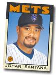 Santana baseball card